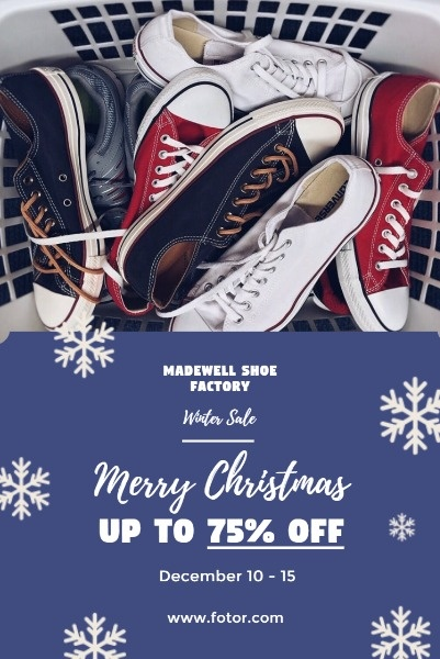 Christmas Shoe Store Sales