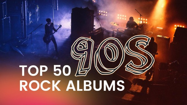 Black Top 50 90s Rock Albums