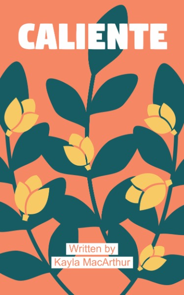 Orange Flower Leaf