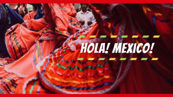 Hot  Red Dress Travel Mexico Youtube Channel Art