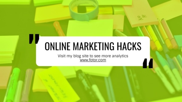 Online Marketing Hacks