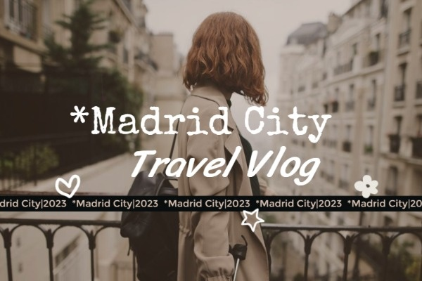 Madrid City Blog Cover