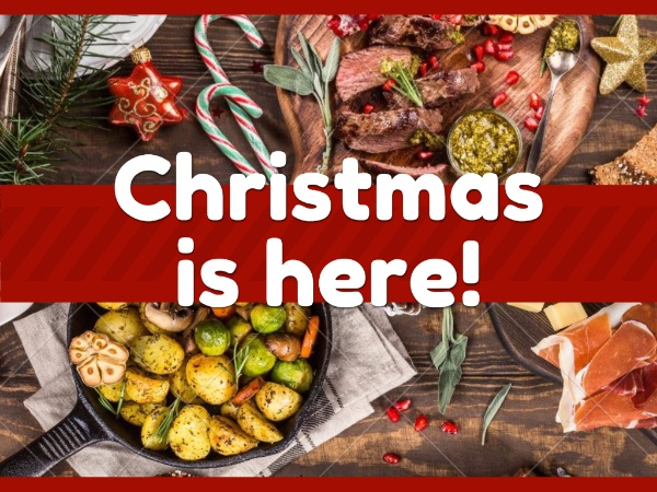 Foodie Christmas Greeting