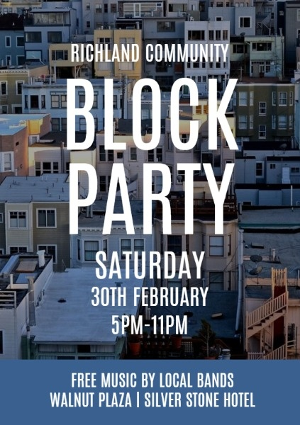Blue Block Party