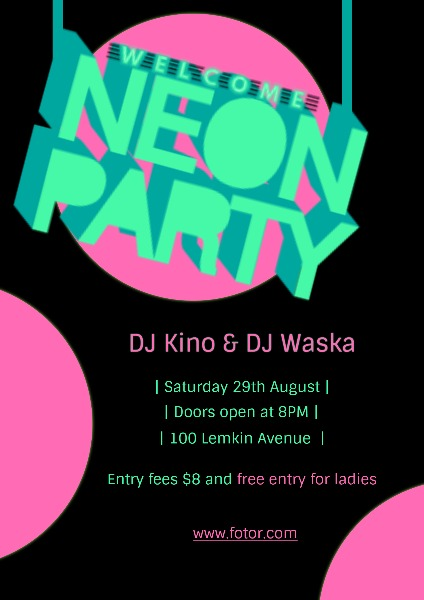 neon party_lsj_20180614