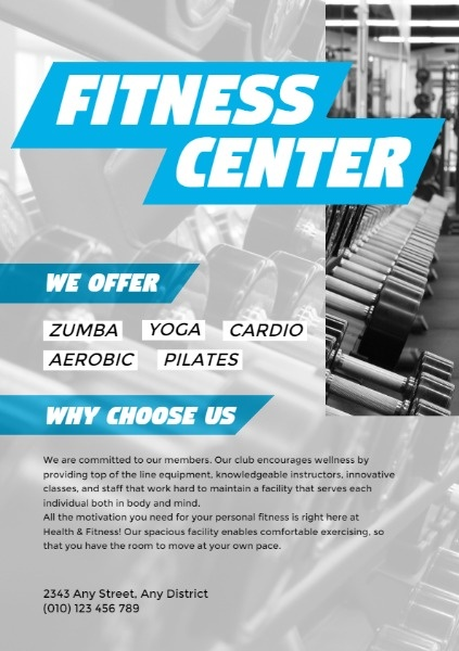 Grey Fitness Center