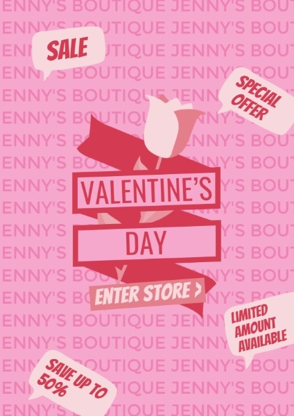 Boutique Valentine's Day Sale