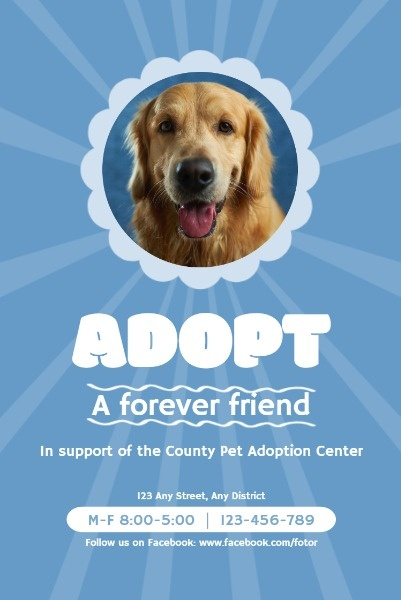 Blue Adoption Center