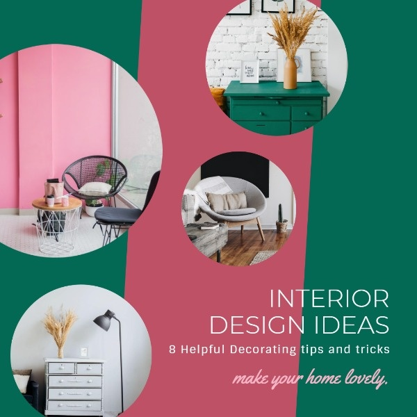 Online Interior Design Ideas Instagram Post Template | Fotor ...