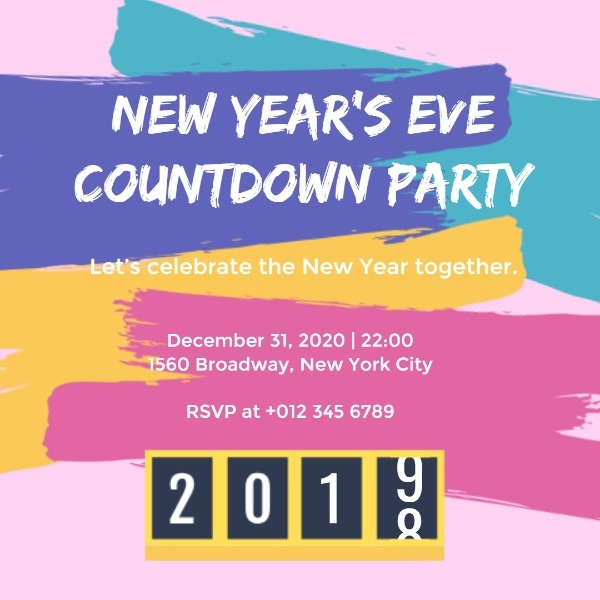 New Year's Eve Countdown Party
