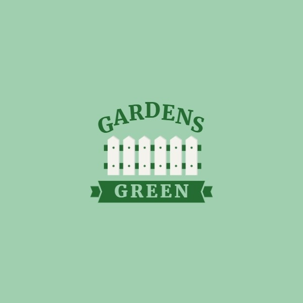 Green Gardening Fence Icon
