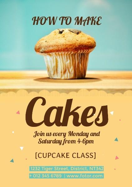 Delicious Cake Class