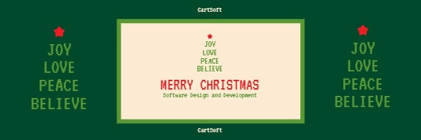 Christmas Software Website Email Header