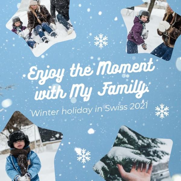 家庭照片冬季_ls_20200628_photo collage