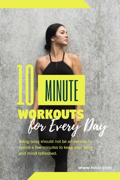 Yellow Workout Plan Article