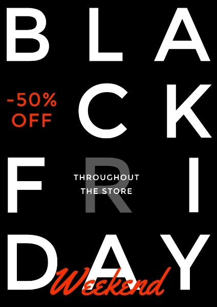 Black Friday Weekend Sale Promotion