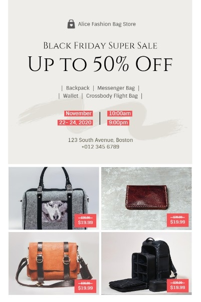 Black Friday Bag Sale