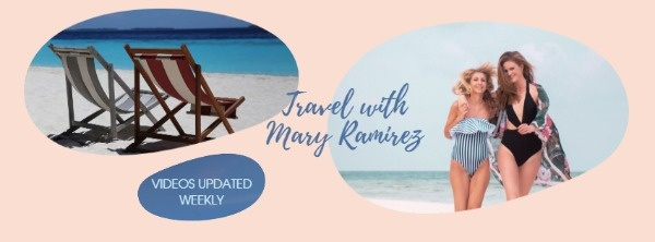 Summer Holiday Collage Banner
