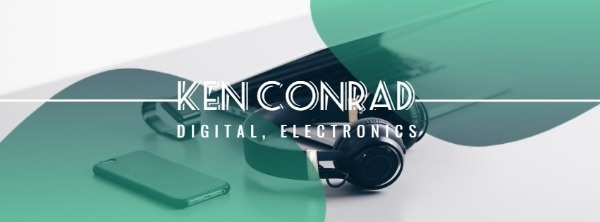 Green Digital And Electronics Banner