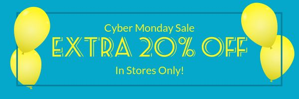 Cyber Monday Discount Email Banner