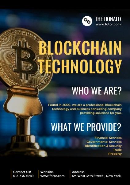 Internet Financial Blockchain Technology