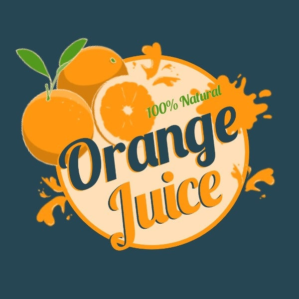 Yellow Orange Juice Sale