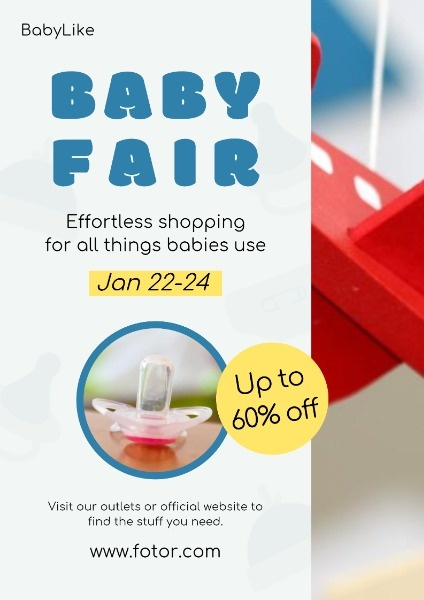 Baby Stuff Online Sale Poster