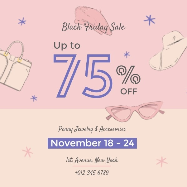 Black Friday Cosmetics Sale
