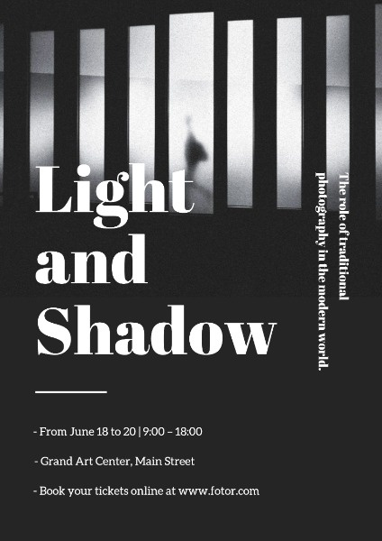 Light And Shadow Photography Exhibition