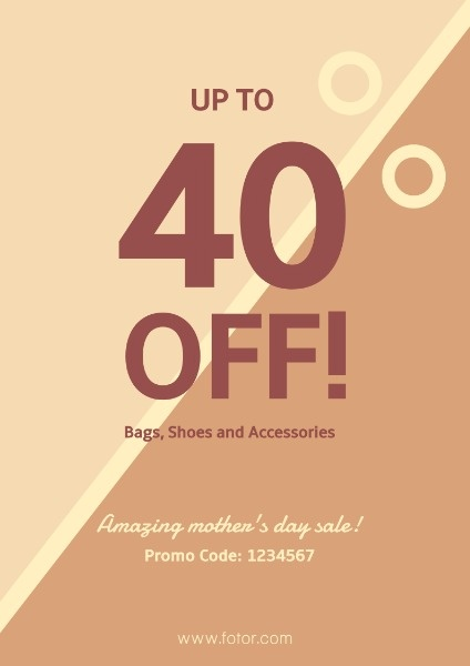 Amazing Mother's Day Sale