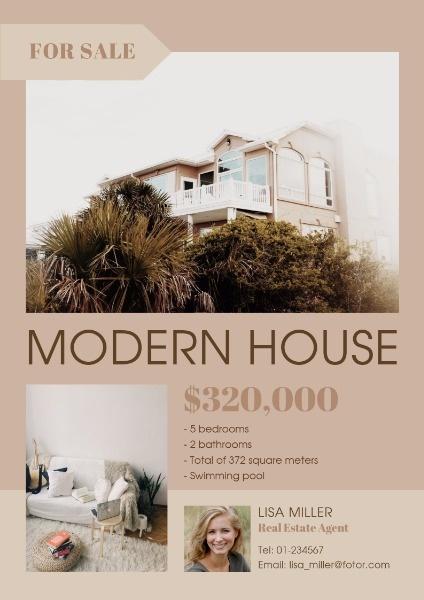 Modern House For Sale