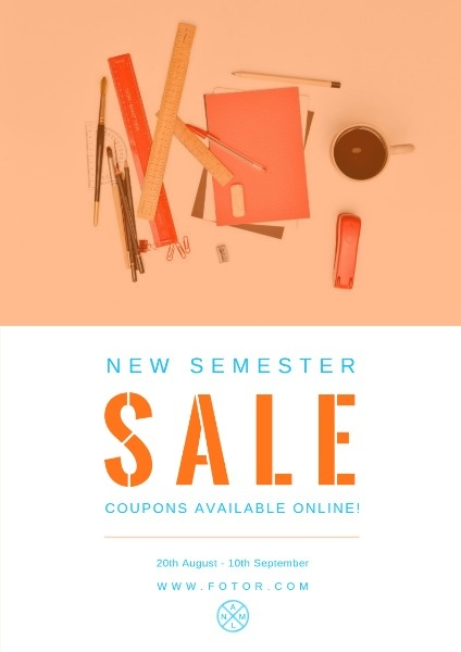 New Semester Sale