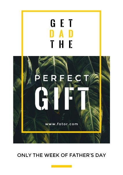 Get Dad The Perfect Gift
