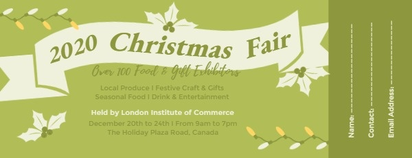 Christmas Fair Ticket