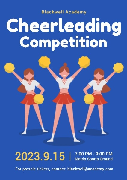 School Cheer Leading Competition