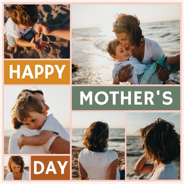 Mother's Day Classic Collage