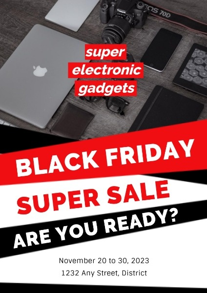 Electronics Black Friday Super Sale