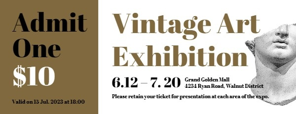 Vintage Art Exhibition