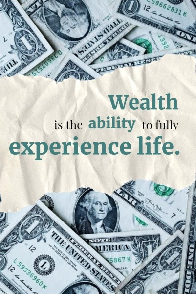 Wealth QuoteBy The Fotor Team