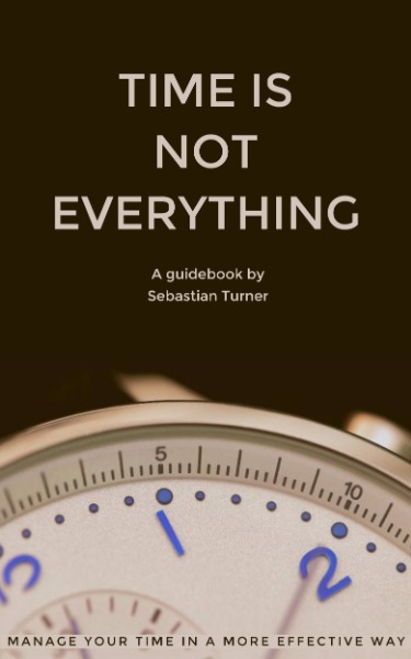Time Is Not Everything Book Cover