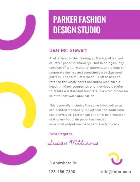 Parker Design Fashion Studio