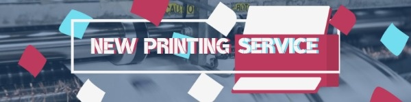 Printing Service Banner
