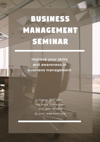 Business Management Seminar