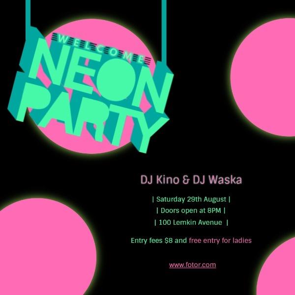 neon party_ip_lsj_20180614