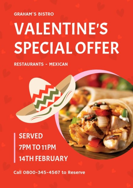 Red Valentine's Special Offer
