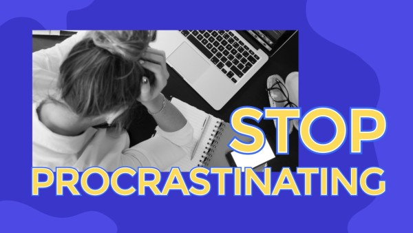 Purple Procrastination Tips