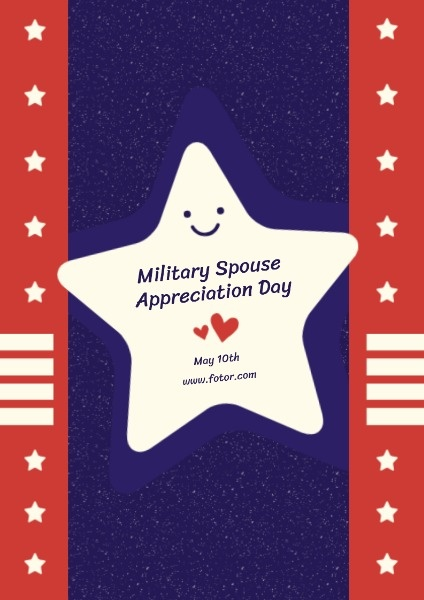Military Spouse Appreciation Poster