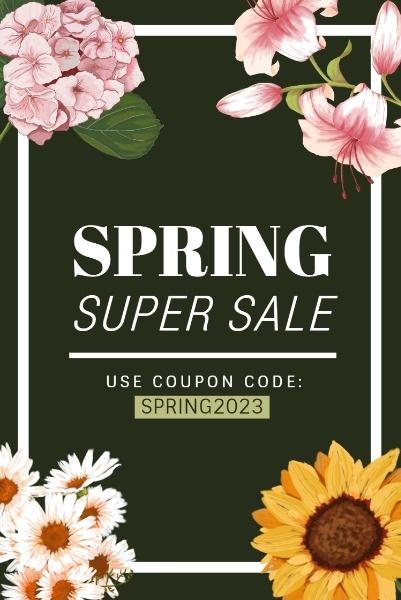 Black Spring Sale