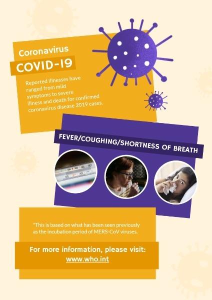 Coronavirus Disease Poster