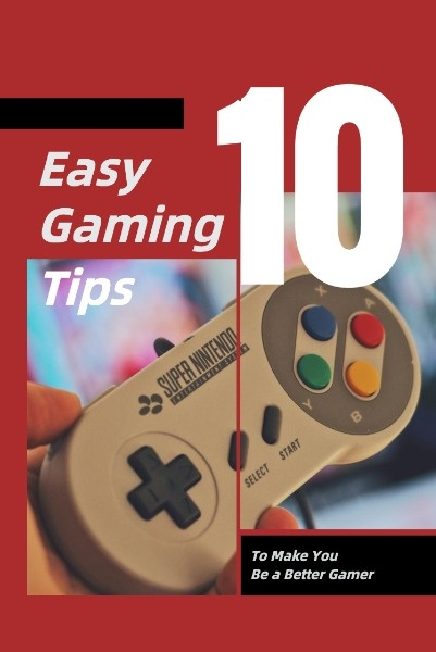 Red Background Of Gaming Tips